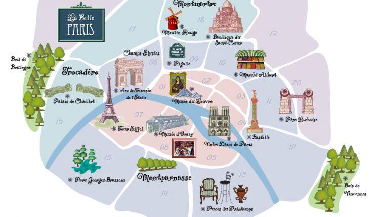 Karte Paris Arrondissement.L Histoire Des Arrondissements De Paris Urban Flat In Paris